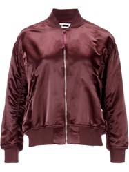H Beauty And Youth. Ma 1 Bomber Jacket Red