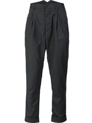 Engineered Garments Pleated Detailing Trousers Grey