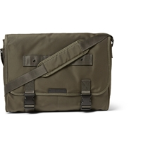 Marc By Marc Jacobs Davey Nylon Canvas Messenger Bag Green