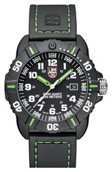 Men's Luminox 'Coronado' Rubber Strap Watch 44Mm