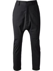 Chapter Dropped Crotch Trousers Grey