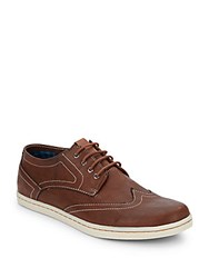 Ben Sherman Nick Oxfords Cognac