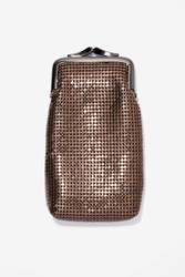 Whiting And Davis Diana Chain Mail Glasses Case Bronze