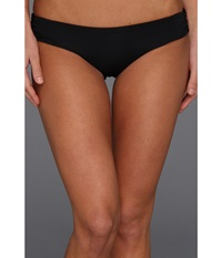 L Space Sensual Solids Lacy Classic Bottom Black Women's Swimwear