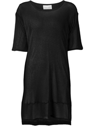 Strateas Carlucci Sheer Oversized T Shirt