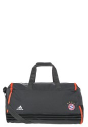 Adidas Performance Fc Bayern Sports Bag Solid Grey Solar Red