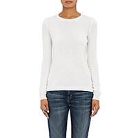 Barneys New York Women's Cashmere Crewneck Sweater Ivory