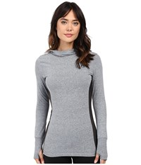 Volcom Snow Challenger Pullover Heather Grey Women's Long Sleeve Pullover Gray