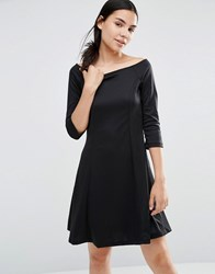 Vero Moda Skater Dress Black