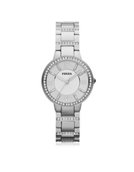 Fossil Virginia Stainless Steel Women's Watch Silver