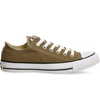 Converse All Star Low Top Canvas Trainers Jute Canvas