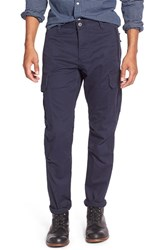 Men's Dockers 'Alpha Khaki' Slim Fit Stretch Twill Cargo Pants Pembroke Blue