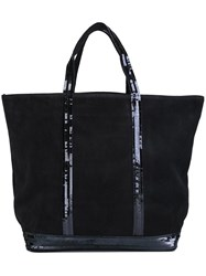 Vanessa Bruno Double Handles Large Tote Blue