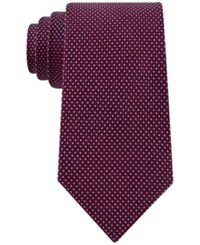 Club Room Men's Micro Grid Tie Only At Macy's Red