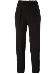 See By Chloe Cropped Trousers Black