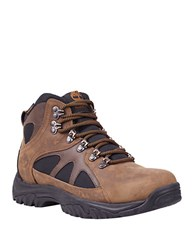 Timberland Bridgeton Mid Hiker Waterproof Leather Lug Sole Boots Brown