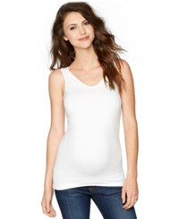 A Pea In The Pod Maternity Scoop Neck Tank