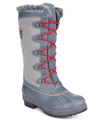 Sporto Camille Waterproof Boots Women's Shoes Grey