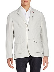 Victorinox Regular Fit Voyager Sportcoat Light Grey