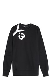 Y 3 Logo Sweater Black