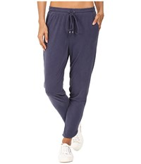 Splendid Slub Sandwash Pants Navy Women's Casual Pants