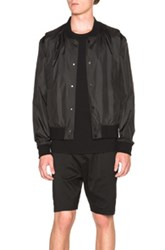 Public School Julis Nylon Abai Jacket In Black