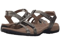 Taos Trophy Light Gold Reptile Women's Sandals
