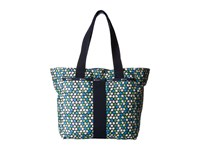 Le Sport Sac Everyday Tote Travel Daisy Tote Handbags Blue