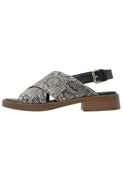 Vagabond Ivy Sandals Almond Multicolor Grey