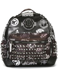Philipp Plein Small 'Arenipoli' Backpack Black