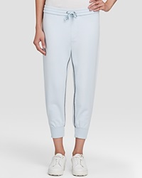 Marc By Marc Jacobs Sweatpants Sporty Cropped Cloud Blue Multi