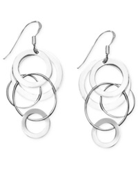 Studio Silver Sterling Silver Earrings Circle Drop Earrings