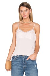 House Of Harlow X Revolve Laine Lace Detail Cami Blush