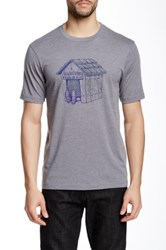Travis Mathew Dog House Short Sleeve Tee Gray
