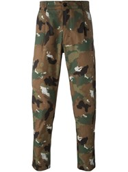 Etudes Camouflage Trousers