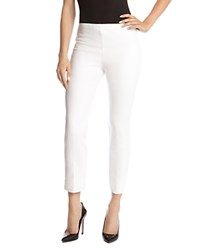 Karen Kane Cropped Pants Cream