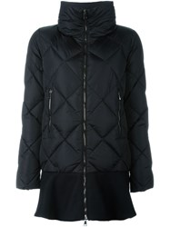 Moncler Quilted Padded Jacket Black