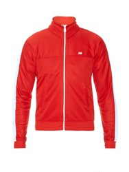 Ami Alexandre Mattiussi Zip Through Jersey Sweatshirt Red