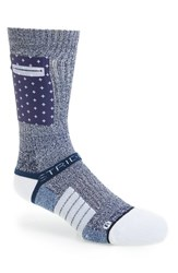 Strideline Men's X Nate Robinson 'Pocket Sock Portside' Strapped Fit 2.0 Socks