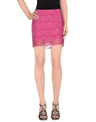 Cycle Skirts Mini Skirts Women Fuchsia
