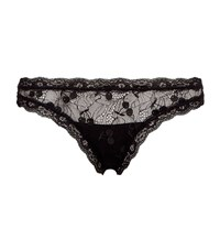 Mimi Holliday Fortune Cookie Thong Female Black