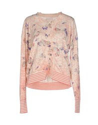 Kristina Ti Knitwear Cardigans Women Light Pink