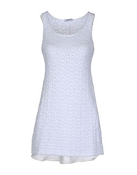 Base London Base Short Dresses White
