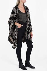 Missoni Women S Zigzag Cape Boutique1 Black