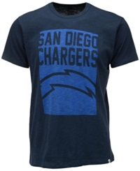 '47 Brand Men's San Diego Chargers Billboard Scrum T Shirt