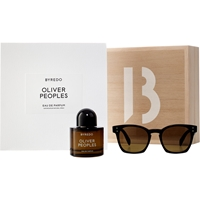 Byredo Oliver Peoples Amber With Sunglasses