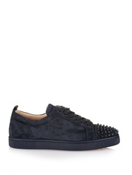 Christian Louboutin Louis Low Top Suede Trainers