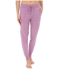 Ugg May Lounge Jogger Orchid Heather Women's Casual Pants Red
