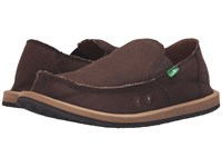 Sanuk Hemp Brown Men's Shoes