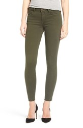 Joe's Jeans Women's Icon Ankle Skinny Military Green